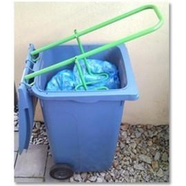 Ugniatarka, zgniatarka, prasa do śmieci w pojemnikach plastikowych o poj. max 240l