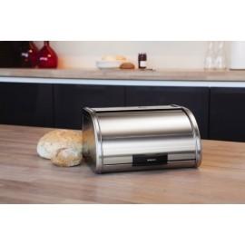 Brabantia 397080 - chlebak automatyczny średni, stal polerowana