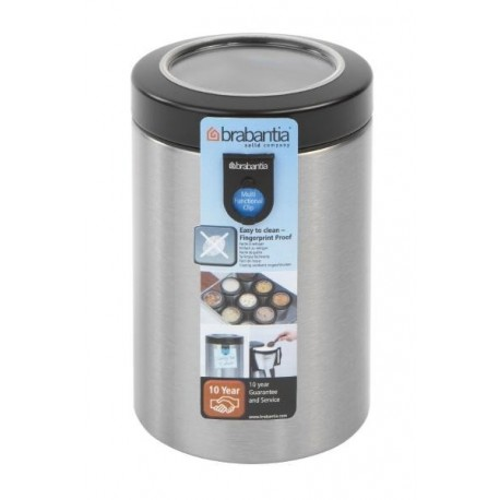 Brabantia, pojemnik 1.4l z okienkiem i miarką