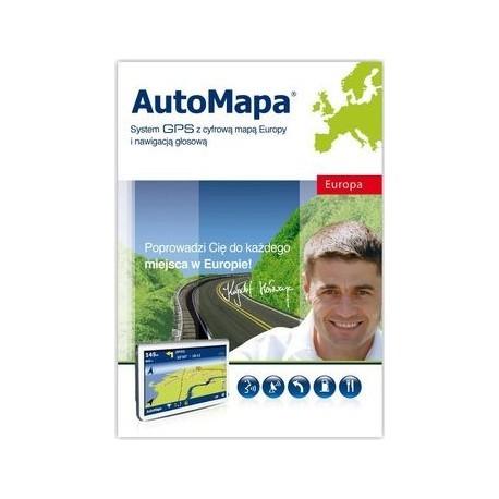 Auto Mapa Europa wersja pudełkowa