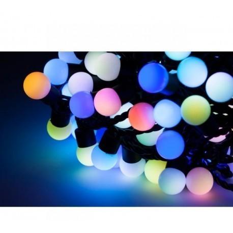 Diodowe, LED, lampki choinkowe ozdobne zewnętrzne, RGB- 20mb