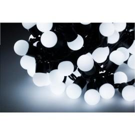 Diodowe, LED, lampki choinkowe ozdobne, białe- 20mb