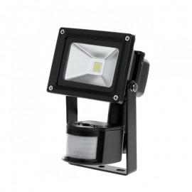 Reflektor LED 10 W z sensorem ruchu i zmierzchu