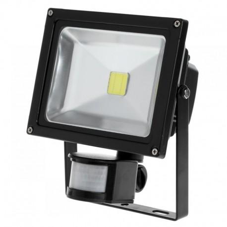 Reflektor LED 20 W z sensorem ruchu i zmierzchu