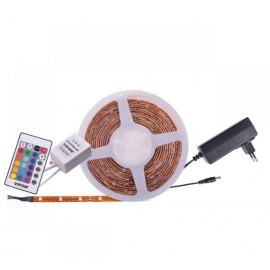 Zestaw oświetleniowy (sznur diodowy 150x5050SMD + zasilacz + kontroler kolorów)