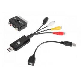 Zgrywanie kaset VHS na CD, PC, VIDEO-GRABBER Cabletech model URZ0192