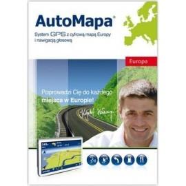 AutoMapa Europa - aktualizacja map