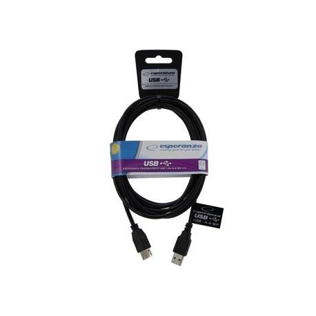 Kabel przedłużacz USB - długość 3m