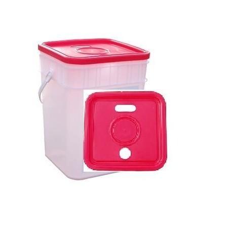 Pojemnik, wiaderko 15l na zużyte baterie lub przeterminowane leki