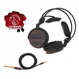 Kruger&Matz KM0880EB, rewelacyjne słuchawki przewodowe nauszne, pozłacane wtyki
