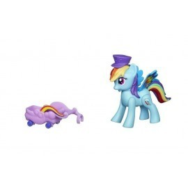 My little Pony, seria Rainbow Power, RAINBOW DASH A6240, latające kucyki, Zoom`n Go