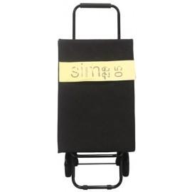 Simpex, wózek na zakupy JUTA CLASSIC black