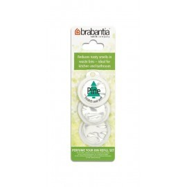 Brabantia 482069 - Perfume Your Bin, 3 wkłady wymienne o zapachu sosnowym