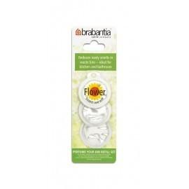 Brabantia 482083 - Perfume Your Bin, 3 wkłady wymienne o zapachu kwiatowym