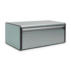 Brabantia - 484322, chlebak, pojemnik na pieczywo prostokątny, metaliczna mięta