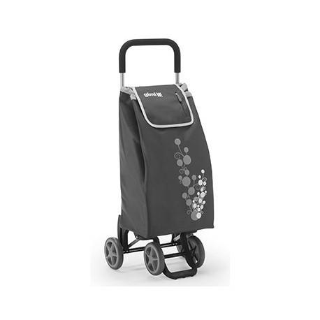 GIMI TWIN szary profesjonalny wózek 4 kołowy - NOWOŚĆ