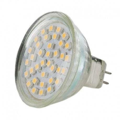 Żarówka 36 SMD LED, ciepły biały. 12V, 2W
