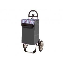 Aurora - BERLINO wózek na zakupy z aluminiowym stelażem, koła 28cm