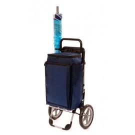 Aurora - PICNIC, wózek na zakupy z izotorbą i siedziskiem, wózek plażowy