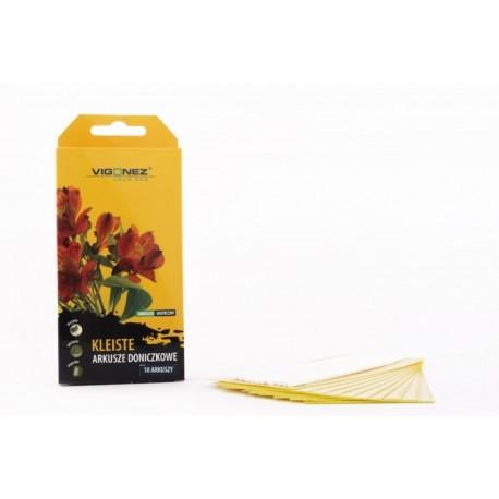 VIGONEZ - Żółte kleiste arkusze doniczkowe