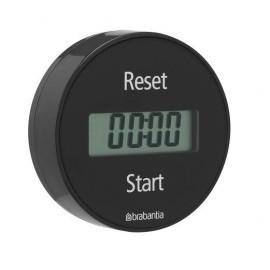 Brabantia 103742 - Timer magnetyczny, minutnik grafit