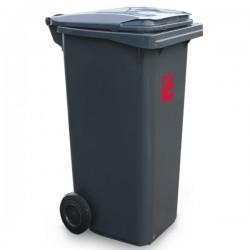 Contenur - pojemnik plastikowy 2-kołowy 120l na odpady komunalne