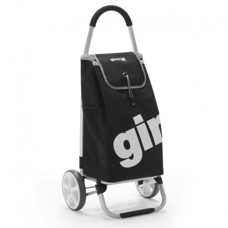 GIMI GALAXY czarny, torba PVC, wózek na zakupy aluminium