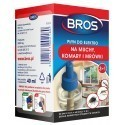 Płyn owadobójczy na komary, muchy i mrówki do urządzeń elektro, BROS