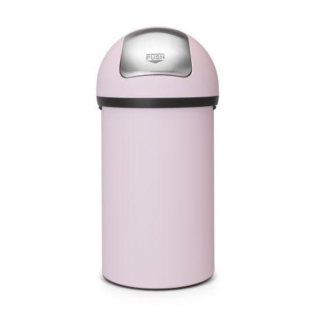 Kosz Push Bin 60l Mineral Pink Brabantia 402708