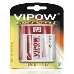 VIPOW Bateria płaska GREENCELL 3R12 4,5V