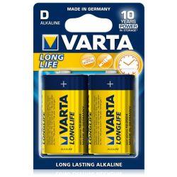 VARTA baterie LR20 LONGLIFE bateria alkaliczna 2szt D