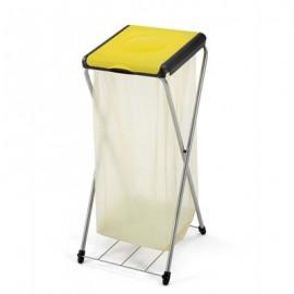 GIMI Nature 1Plus - stojak 1x120l z półką, stelaż na worki, na śmieci. Najwyższa jakość