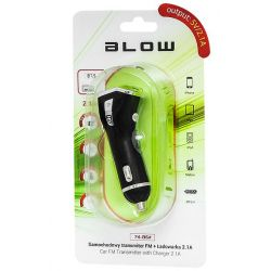 Transmiter FM BLOW 74-136 USB ładowarka 2,1A