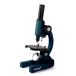 Mikroskop Levenhuk 2S NG Monokularowy. Powiększenie: 200x. Oświetlenie: lusterko