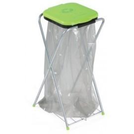 CASABRIKO EKO - 1plus. Stojak na worki z półką, segregacja śmieci, odpadów