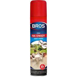 Spray na owady: komary, muchy, pająki, do stosowania w ogrodzie lub na tarasie BROS 0,4l