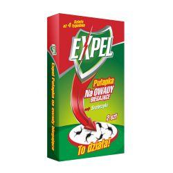 Pułapka na owady biegające srebrzyki (rybiki) 2szt EXPEL