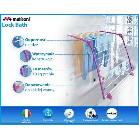 Meliconi - Suszarka nawannowa Lock Bath