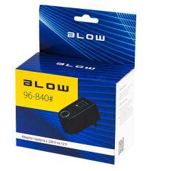 BLOW Adapter napięcia 230V/12V gniazdo zaplniczki 0,9A