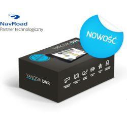 Yanosik DVR zaawansowany asystent kierowcy, nawigacja, videorejestrator