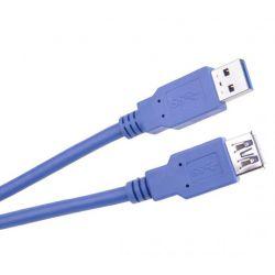Kabel USB 3.0 AM/AF 1.8mb gniazdo + wtyk