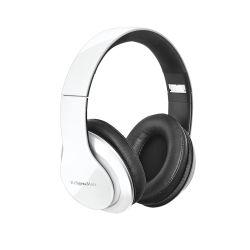 Słuchawki przewodowe nauszne Kruger&Matz model Street 2 Power Bass, składane, białe