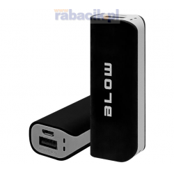 BLOW Power Bank 4000mAh 1xUSB PB11 CZARNY