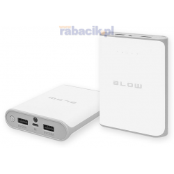 BLOW Power Bank 14000mAh 2xUSB PB14 BIAŁY