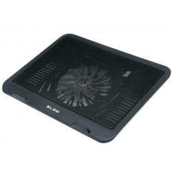Podstawka chłodząca pod laptop czarna BLOW