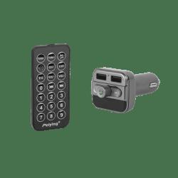 Peiying Samochodowy transmiter bluetooth, 2xUSB, ładowarka 3,4A
