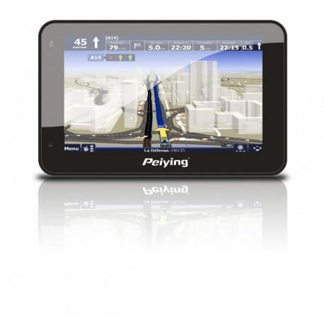 Nawigacja satelitarna Peiying PY-GPS5005 (Bt, Internet, transmiter FM) bez mapy