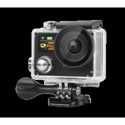 Kruger&Matz Kamera sportowa 4K Black + pilot KM0198