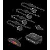 Peiying Samochodowe czujniki parkowania, parktronic, czarny PY0104B