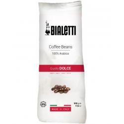BIALETTI CAFFE Gusto DOLCE Kawa ziarnista o słodkim smaku 500g, 100% Arabica